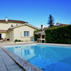 Maison familiale sur grand terrain, Bordeaux Caudéran Stéhelin avec piscine et garage