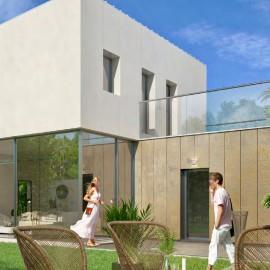 Maison contemporaine de 116 m2 avec garage et jardin, Bordeaux mairie Caudéran, à réserver, livraison en 2019