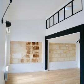 Duplex rénové, 2 chambres, 57 m2, Bordeaux Chartrons Place Picard