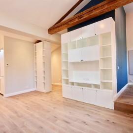 Appartement rénové, 55,63 m2 (45,65 m2 Carrez), Bordeaux hyper centre