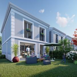 4 Maisons neuves en duplex avec jardin, 3 chambres - Le Bouscat Parc de la Chêneraie