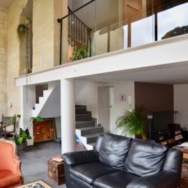 Maison de ville en pierre avec jardin - Bordeaux Chartrons - 3 chambres