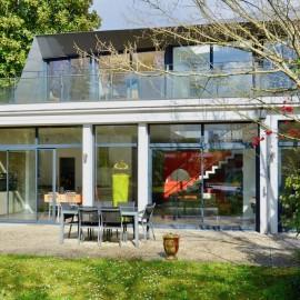 Maison d'architecte familiale - Le Bouscat centre - 4 chambres et 1 bureau - piscine, garage, jardin