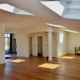 Penthouse Jardin-Public, ascenseur, terrasse, cave
