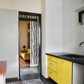 Maison de ville Bordeaux Saint-Augustin, 3 chambres, 1 bureau, cave, cour