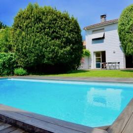 Le Bouscat Parc Bordelais - maison familiale 5 chambres, garage, jardin, piscine, stationnement