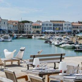 Ile de Ré - Charentes Maritime, fond de commerce Restaurant entièrement équipé + appartement 2 chambres
