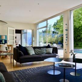 Grande maison d'architecte, Bordeaux Caudéran Grand-Lebrun, piscine, stationnements, 7 chambres