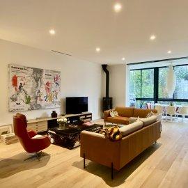 Maison bourgeoise rénovée, Bordeaux Bastide, jardin, climatisation, TRAM