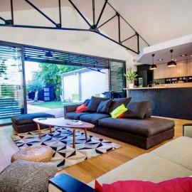 Loft de 230 m2 avec jardin, piscine, garage Bordeaux Barrière de Toulouse/Nansouty